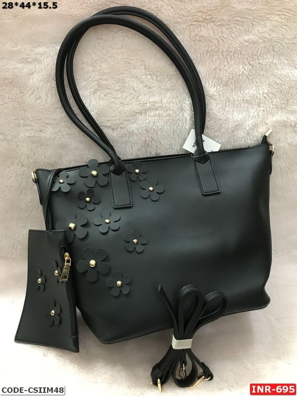 Simple Rexine Handbag
