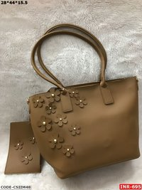 Simple Rexine Handbag