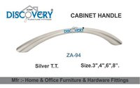Silver Cabinet Pull Handle