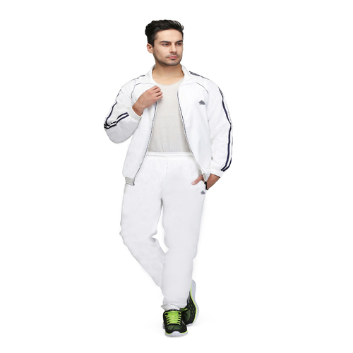 Mens White & Black Tracksuit