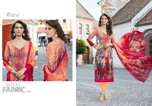 Pashmina Digital Printed Salwar Suit