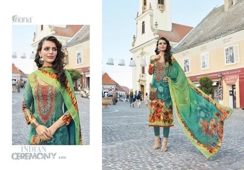 Pashmina Digital Printed Salwar Kameez