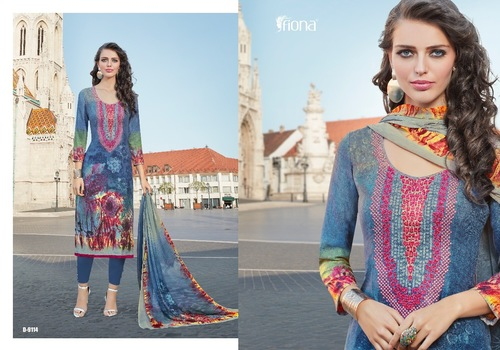 Digital Printed Designer Salwar Suit
