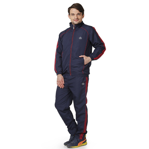 Mens navy & red Tracksuit