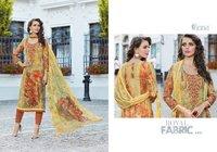 Digital Print With Embroidery Work Pashmina Salwar Suit