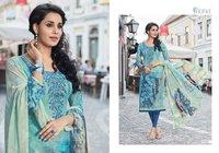 Digital Print With Embroidery Work Pashmina Salwar Kameez