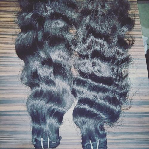 3 HEAD MACHINE WEFT HAIR
