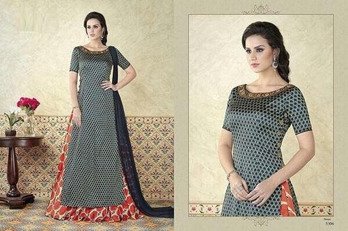 Modal Satin Indo Western Suit