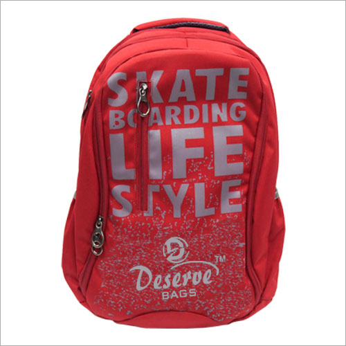 Printed College Bag
