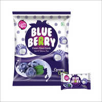 Blue Berry Cream Candy