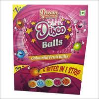 Disco Balls (Colourful Fruit Balls)