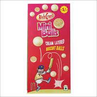 Cream Layered Biscuit Balls