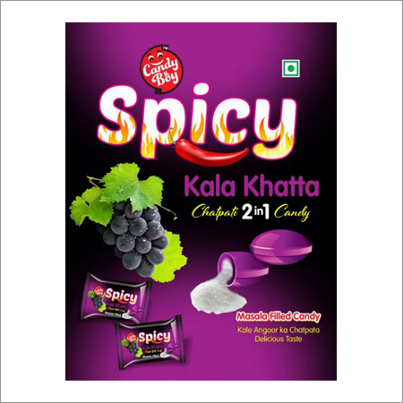 Spicy Grape Candy
