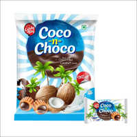 Choco Filled Coconut Candy