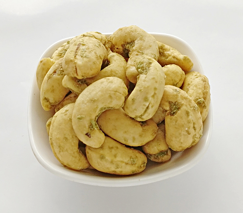Green Chilli Cashew Nuts