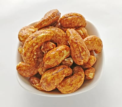 Brown Red Chilli Cashew Nuts