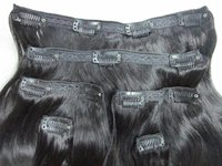 CLIP HUMAN HAIR EXTENSION