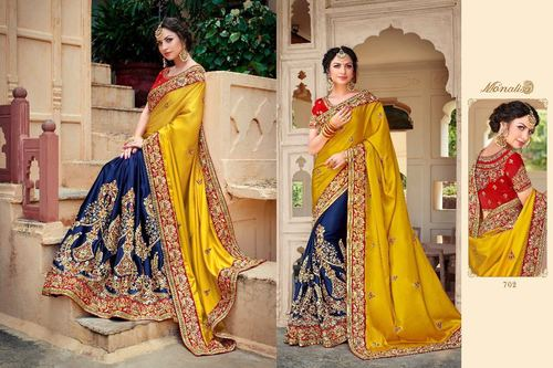 Fancy Heavy Designer Saree