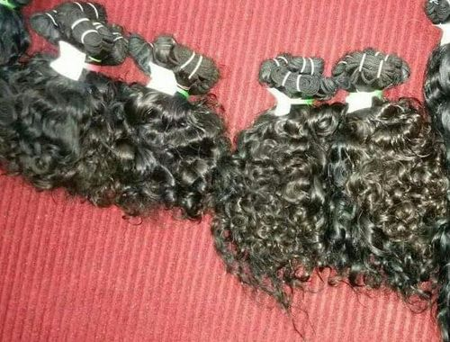 WEFT CURLY HAIRS