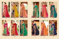 Monalish Lunching New Heavy Designer Party Wear Saree Catalog 701 To 712 Series