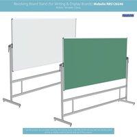 Revolving Whiteboard Stand Mobelio (for 4x8 Feet)