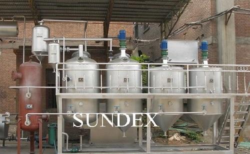 Sundex Continuous Refining Line