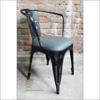 Restaurant Black Armless Chair