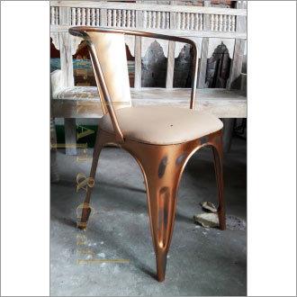 Restaurant Metal Armrest Chair