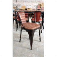 Antique Finish Restaurant Chair