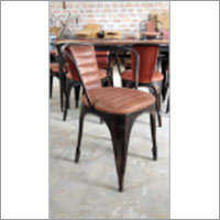Antique Finish Restaurant Chair
