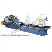 PLANO TYPE HEAVY DUTY LATHE MACHINE