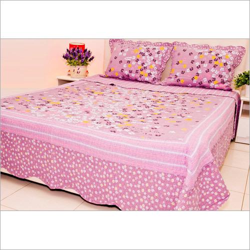 Designer Print Cotton Bedsheet