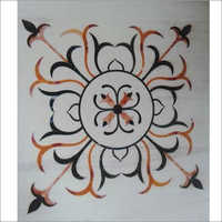 Marble Inlay Flooring Rangoli