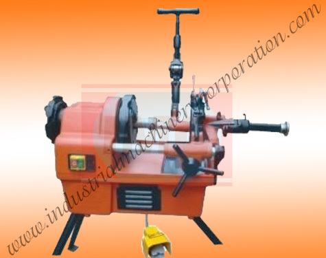Portable Pipe and Bolt Threading Machine