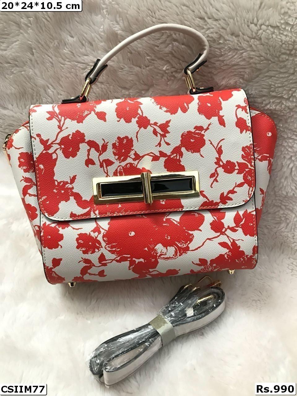 Floral Designing Handbag