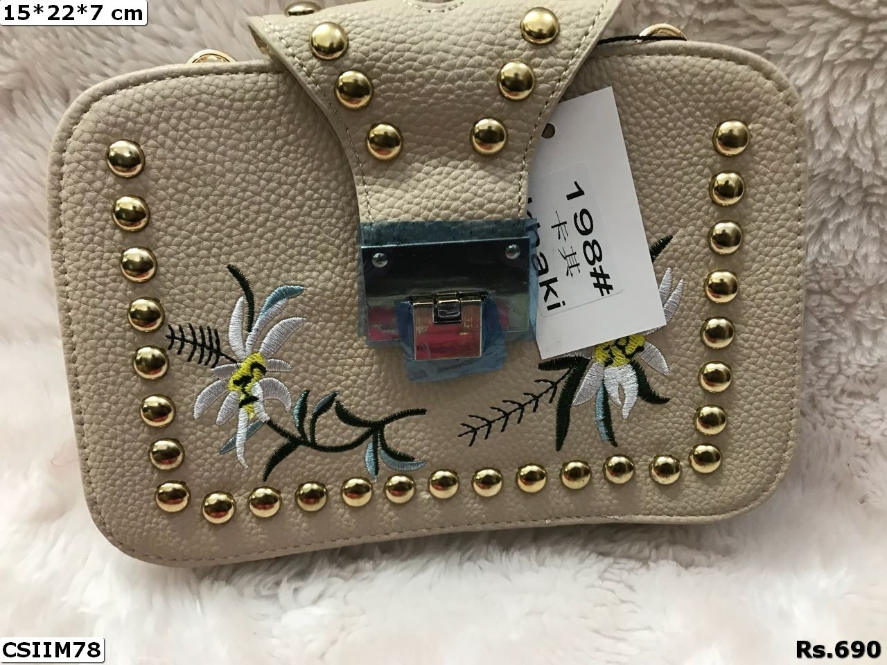 Imported Pu Handbag