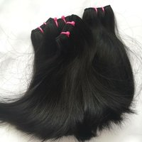 REMY DOUBLE DRAWN MACHINE WEFT HAIR