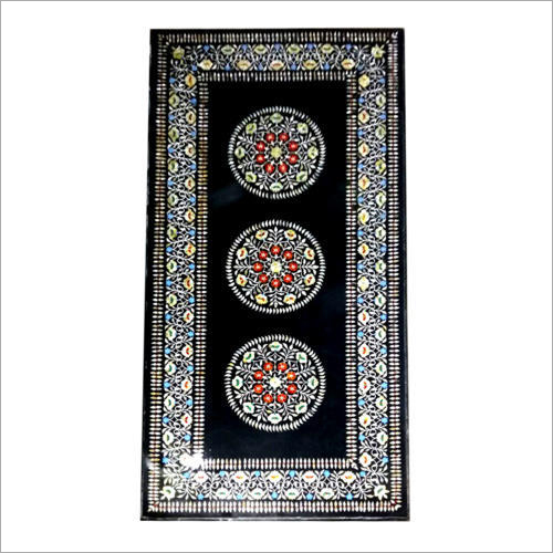 Marble Inlay Dining Table Top