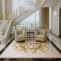 Medallion Inlay Flooring