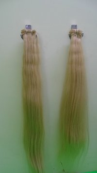 BLONDE MACHINE WEFT HAIR