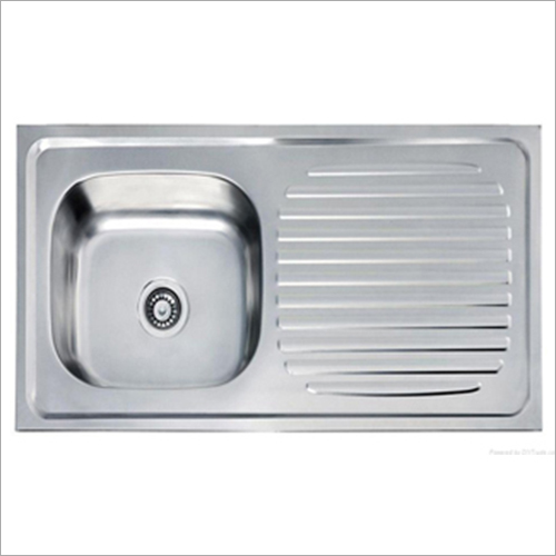 Single Bowl Drainboard Steel Sink