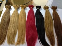 COLORED MACHIEN WEFT HAIR S