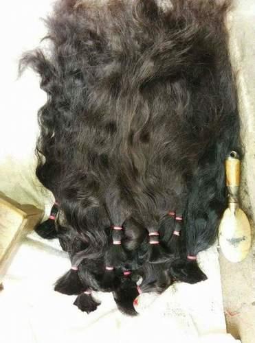WAVY SINGLE DRAWN HAIR