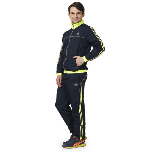 Mens navy & green Tracksuit