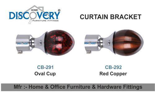 Oval Curtain Bracket
