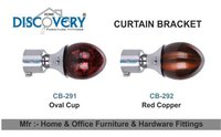 Oval Curtain Bracket