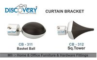 Basketball Curtain Bracket