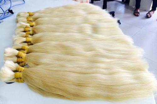 COLORED SINGLE DRAWN HAIR