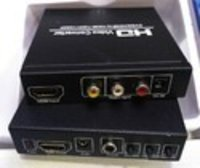 HDMI to AV converter with digital Audio