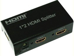 Hdmi splitter splits to 2 output display with full